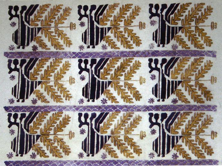 "166.  Бакст Лев  ""Эскиз орнамента""  1922-1923  Музей Эвергрин-хаус, Балтимор США"