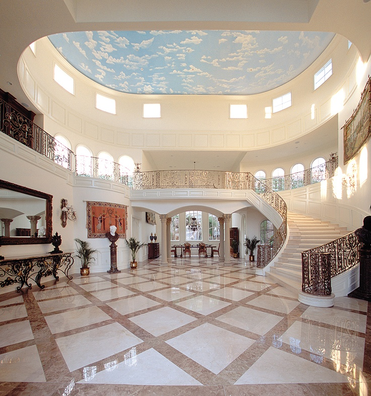 Luxury Mansion Foyer : Best images about grand foyer on pinterest