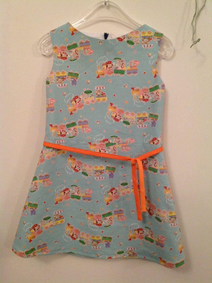 patroon jurk kind gratis