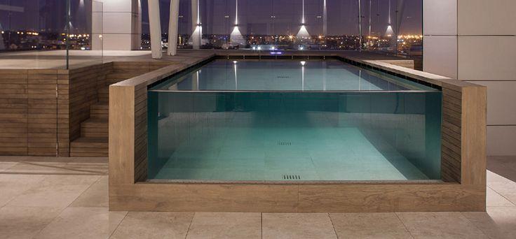 Les 25 meilleures id es concernant piscine rectangulaire for Piscine acier carre