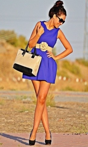 Love the blue!!
