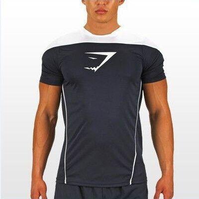 Men's Workout Gym Short-Sleeve T-Shirt S-XL 5 Colors