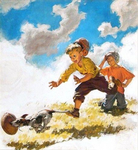 Harry Anderson (1906-1996): Original Paintings & Art For Sale