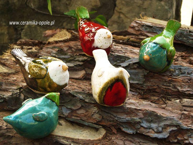 ceramic birds www.ceramika-opole.pl