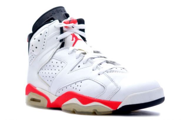 #AirJordan VI White Infrared
