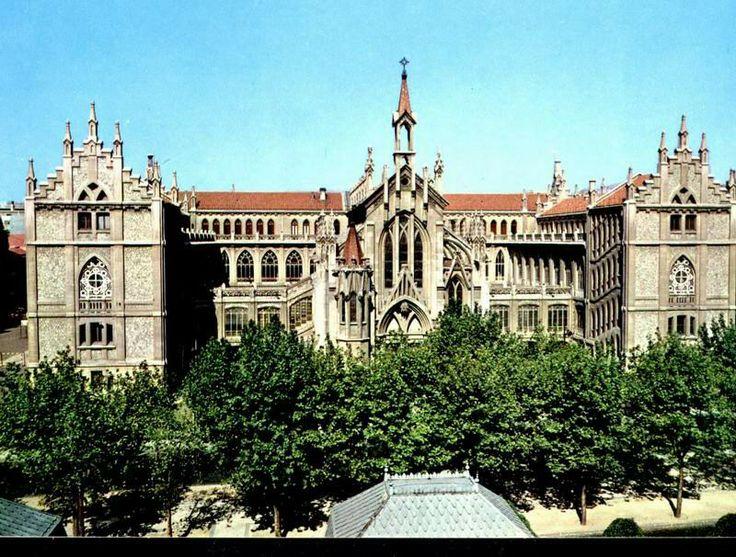 Colegio Nuestra Sra. del Pilar de calle Castello MADRID