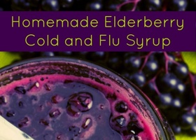 Love this recipe! Elderberries are known to be more powerful against viral flu cells than almost any other product. ORIGINAL: Homemade Elderberry Syrup for Colds and Flu