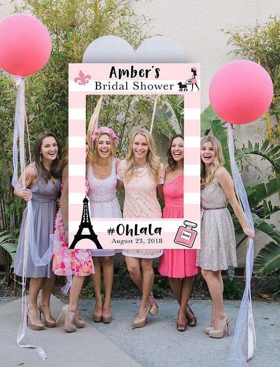 paris themed bridal shower photo booth paris party bridal