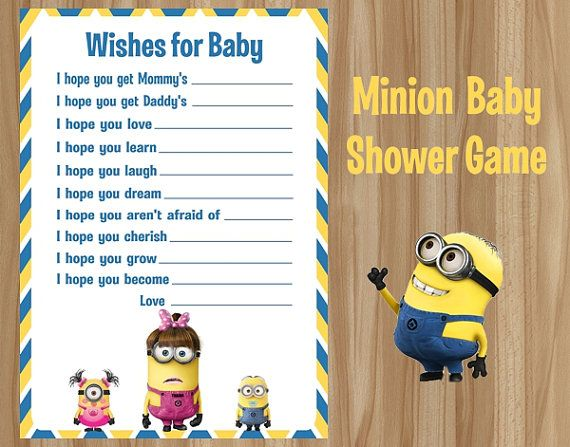 baby game minion minion party sierra s baby ian baby baby trey shower