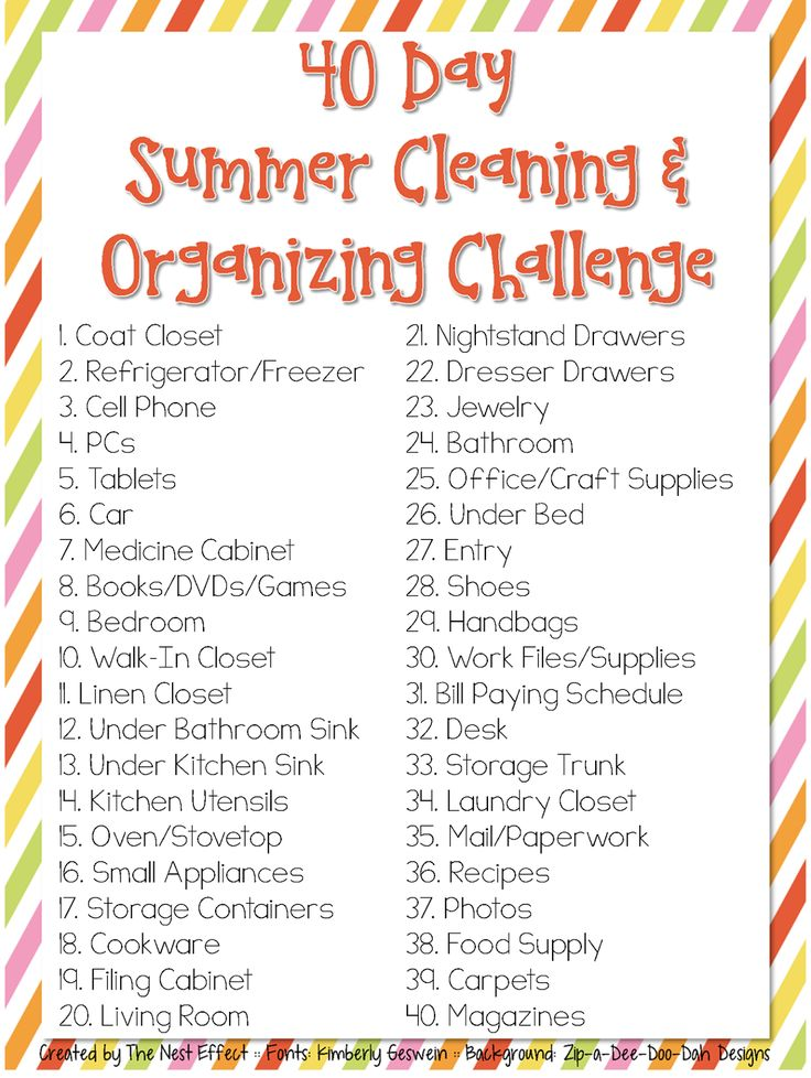 We've got an awesome round-up for you today to help get your life & your home under control! Check out these 20+ Free Cleaning Printables now!