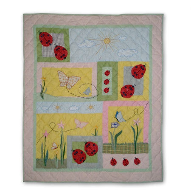 35 best alison - look at the ladybug quilts images on Pinterest ... : magic patch quilting - Adamdwight.com