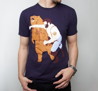 haymaker tee (my husband has this in teal -- it's one of my faves!)