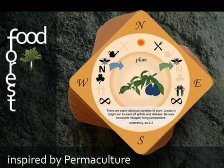 The Food Forest card game is a fun way to learn, teach and design with perennial…