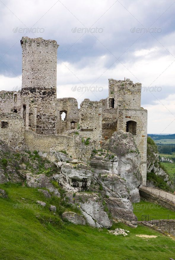 Old Castle Ruins In Poland In Europe With Images
