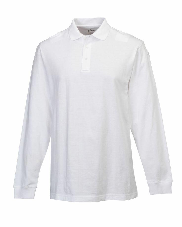 Mens Law Enforcement And Security Professionals Uniform Shirt.  Tri-mountain 614 #Trimountain #Menswear #men #LongSleeve #workwear