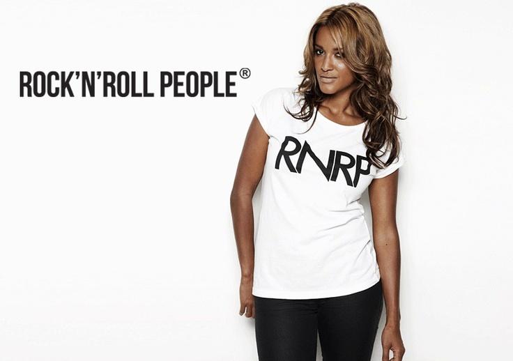 Saseline RNRP T-shirt, folded sleeves