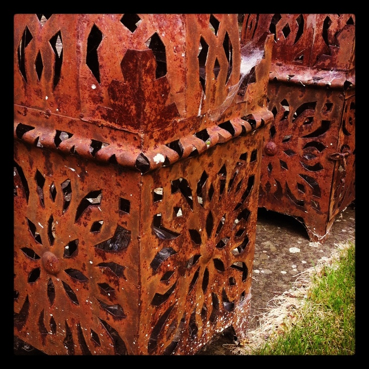 17 Best Images About Rusty Garden On Pinterest Gardens