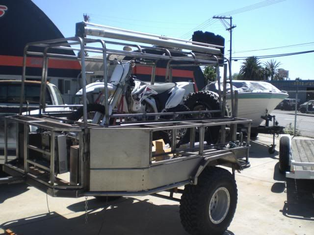 Motorcycle Camping Trailer Off Road Trailers Motorcycle Trailer