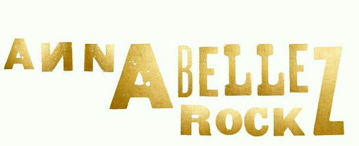 Annabellerockz logo in gold