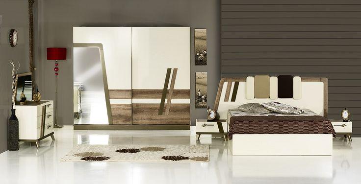 Karizma 2016 New Fashion High Quality Modern Bedroom Set #cream, #bedroom