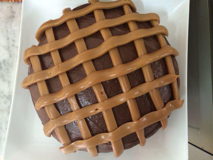Torta chocolate-manjar