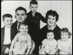 Sylvio and Madonna Ciccone, with their children