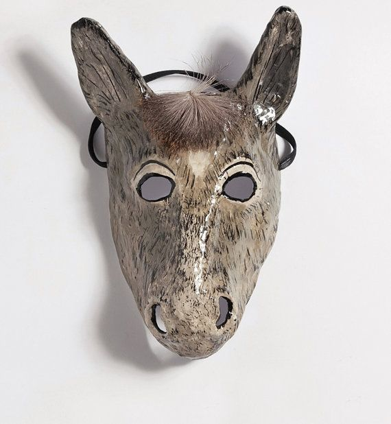 How To Make A Paper Mache Donkey Head
