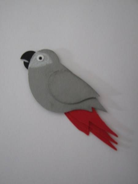African Grey by request by AnnetteMac - Cards and Paper Crafts at Splitcoaststampers