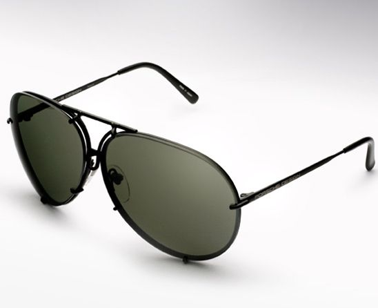 Porsche Design P 8478 Aviators In Black Mirror Kris