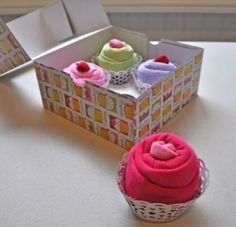 Baby the Kid!: Cadeau de naissance : les bodies cupcake!