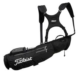 Titleist Golf X90 Carry Bag Black This collapsible, lightweight carry bag will hold a few clubs or a full set.amp