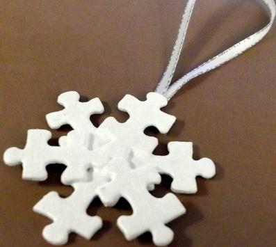 Puzzle Snowflake