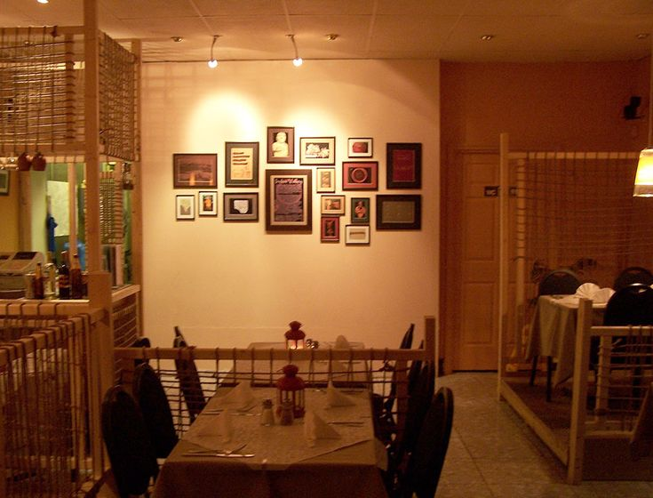 Traditional indian pakistani village inspired restaurant