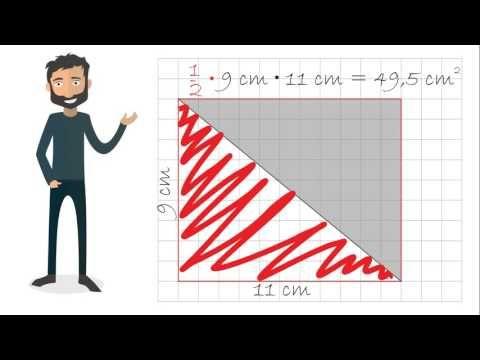 Arealet af en trekant med Peter - YouTube