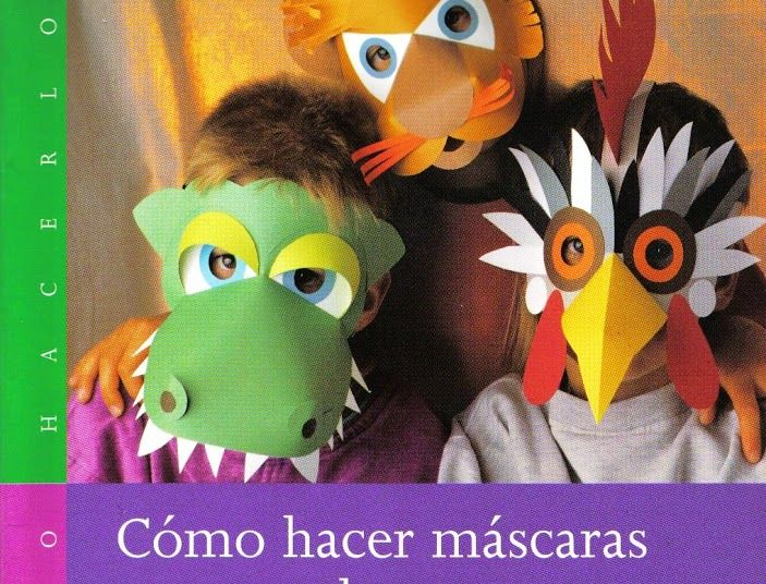 Baúl enmascarado: Cómo hacer máscara de animales con papel