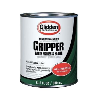 Glidden Professional 1 Qt Gripper White Primer Sealer Gpg