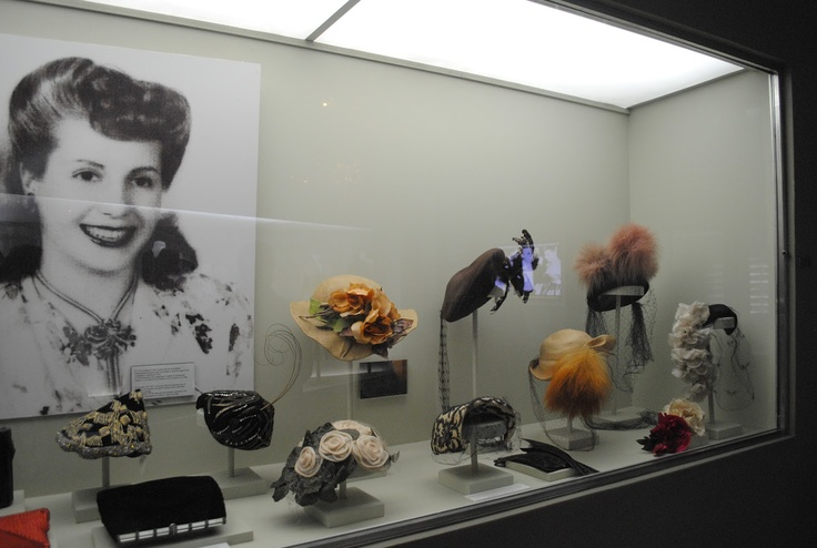 Evita Pic in Museum #Evita #MarquisTheatre #NyNewYork #AskaTicket