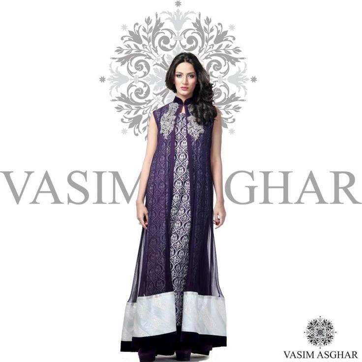 Vasim Asghar Haute Couture Latest Summer Collection 2015 http://clothingpk.blogspot.com/2015/05/vasim-asghar-haute-couture-summer-collection-2015.html