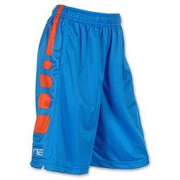 Estos son los pantalones cortos de nike. Estos pantalones cortos son anaranjados y azules. Tú puedes comprar en nike.com o una tienda de nike. Cuestan cuarenta dólares.