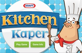 Kitchen Kaper game