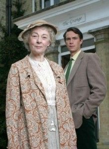 Geraldine McEwan and James D'Arcy as Miss Marple and Jerry Burton © ITV
