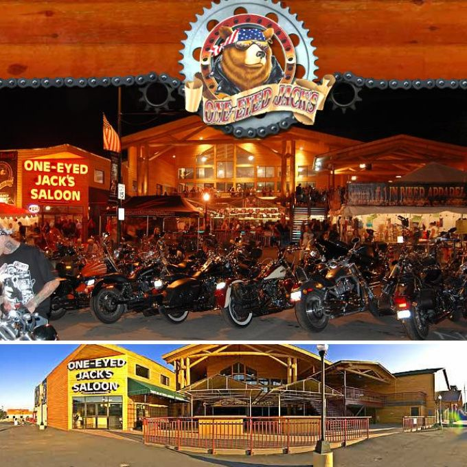 South Dakota - One-Eyed Jack's Saloon,  One-Eyed Jack's Saloon  1304 Main Street Sturgis, SD 57785 605-423-4120 View website »