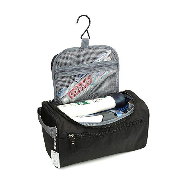 d778b7ebc170 H&S Hanging Travel Toiletry Bag Overnight Wash Gym Shaving Bag for ...