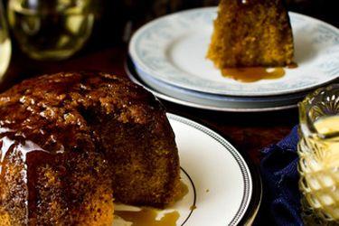 Golden Syrup Steamed Pudding