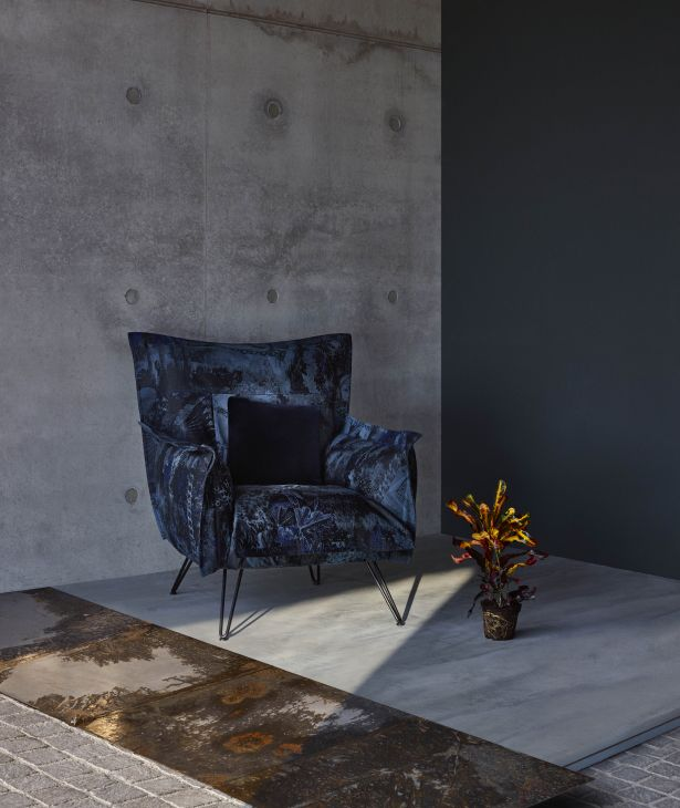 DIESEL with Moroso Cloudscape armchair