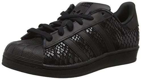 adidas Superstar, Damen Sneakers, Schwarz (Core Black/Core Black/Core Black), 36 2/3 EU (4 Damen UK) - on-line-kaufen.de...