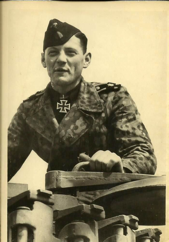 """✠ Balthasar Woll (1 September 1922 - 18 March 1996) RK 16.01.1944 SS-Rottenführer Richtschütze i. d. 13.(s.)/SS-Pz.Rgt 1 """"LSSAH"""""""