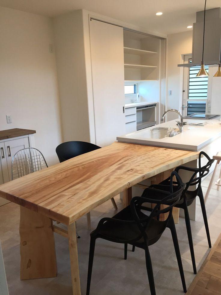 テーブル1 - 一枚板のテーブル きくら 広島