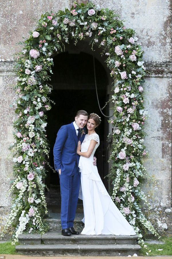 floral archway door wedding brides of adelaide magazine