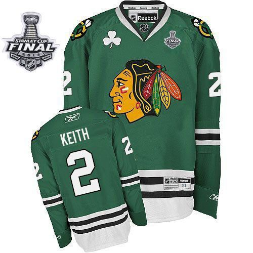 Duncan Keith jersey-80% Off for Reebok Duncan Keith Authentic Men's Stanley  Cup Finals Jersey - NHL Chicago Blackhawks #2 Green from official Reebok NHL  ...